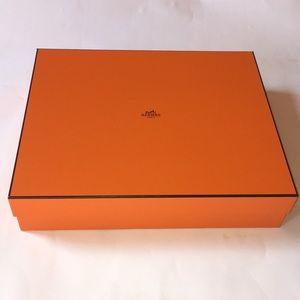 Large Authentic Hermes Box